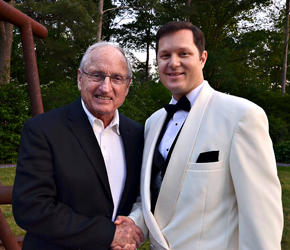 Dean with Vince Dooley